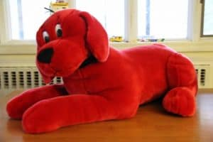 Clifford the Big Red Dog from Douglas Cuddle Toys