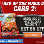 cars 2 toys coupon
