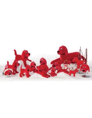 Clifford The Big Red Dog Plush Toys