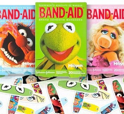 Muppet BAND-AID® Brand Adhesive Bandages (Prize Pack #Giveaway)