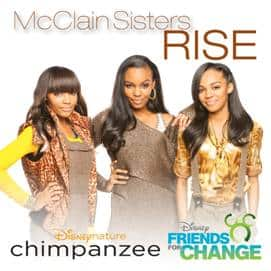 """Rise"" from the McClain Sisters for Disneynature's CHIMPANZEE is now available for viewing"