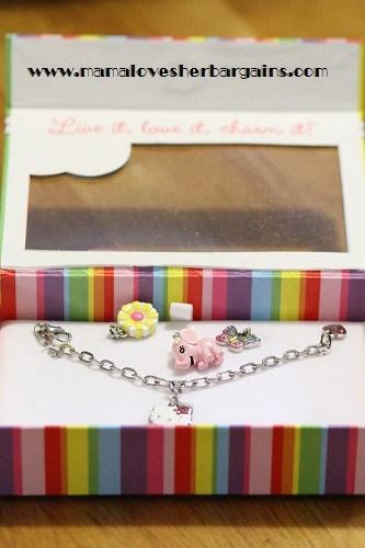 kids charm bracelet, pandora bracelet