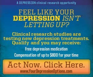 A paid study for folks with Depression