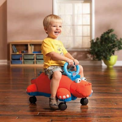 Little Tikes' Pillow Racer Dino Ride On Toy Review and  #Giveaway