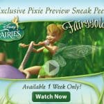 disney fairies sneak preview