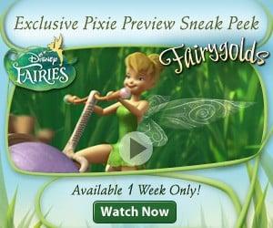 Disney Fairies Fairygolds Exclusive Previews $100 Walmart GC #Giveaway