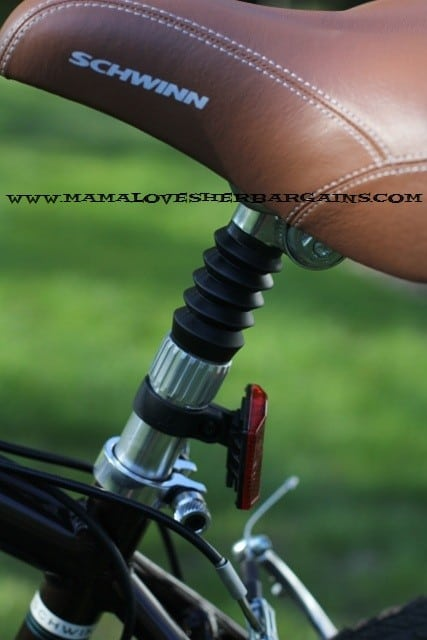 bike seat, leather seat, schwinn