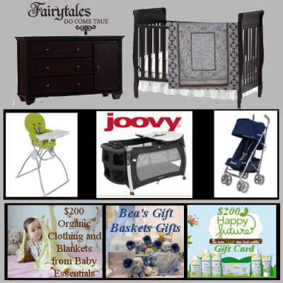 Ultimate Baby Shower $2500 Baby Nursery #Giveaway