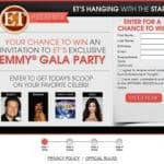 ET's hanging with the stars contest