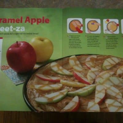 Caramel Apple Sweet-za  Dessert Pizza Recipe