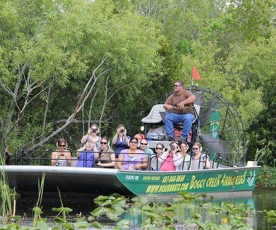 Eco-Friendly Fun with Boggy Creek Airboat Rides in Kissimmee #VisitKissimmee