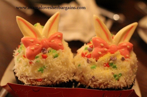 cupcakes from Pizza Planet