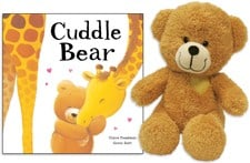 """Purchase a Cuddle Bear Book & Plush to give a """"Hug"""" to a Sick Child AND Help Fight Pediatric Cancer"""