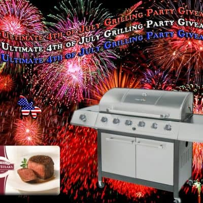 The Ultimate 4th of July Grilling Party Giveaway