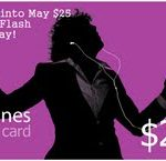 itunes gift card may 2012