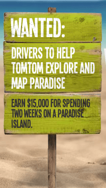 TomTom's Map Paradise Project