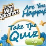 Frosted Mini Spooners are you happy quiz