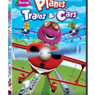 Barney: Planes, Trains & Cars #Giveaway