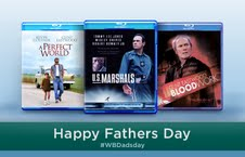 Blood Work, U.S Marshals, A Perfect World, Lethal Weapon Collection: Father's Day Blu-Ray Prize Pack Giveaway #WBDadsDay
