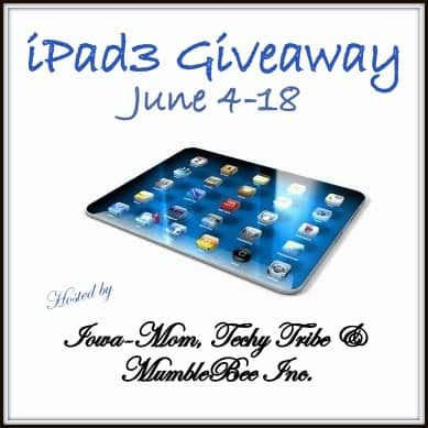 Techy Summer iPad3 #Giveaway