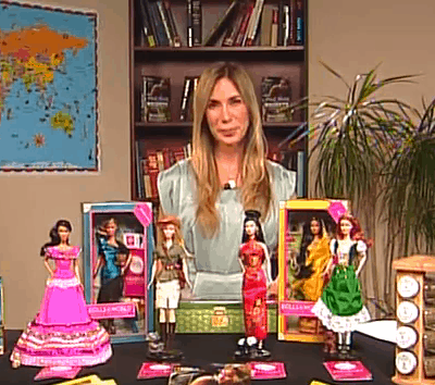 "Chatting about Cultural Adventures with Mireya Mayor & Barbie ""Dolls Around the World"" Giveaway"