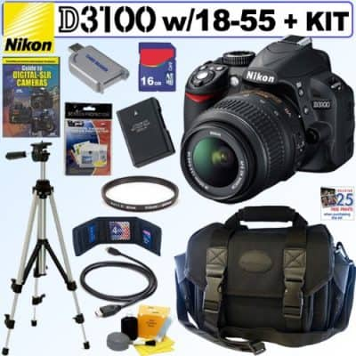 Nikon 14.2MP Digital SLR Camera Kit & Accessories Giveaway