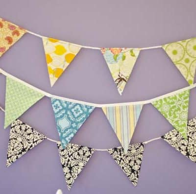EASY Pennant Banner Craft & Tutorial !!