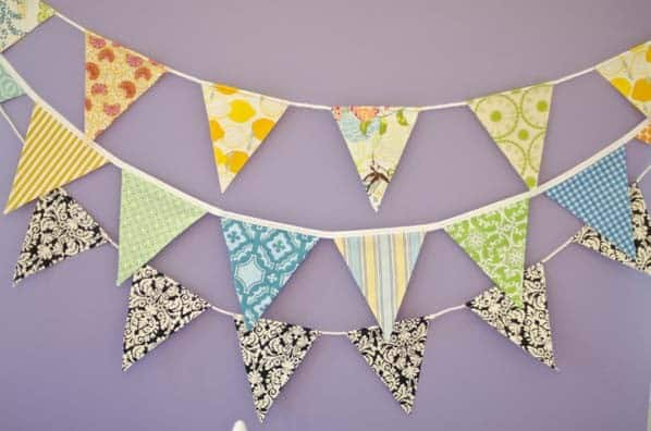 Easy Pennant Banner Craft Amp Tutorial