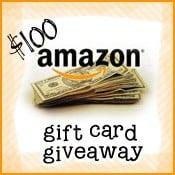 $100 Amazon Giveaway