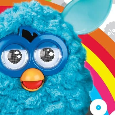 FURBY's Back.  Yes, that FURBY. With a video clip.  (Giveaway) #FurbysBack