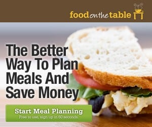 Food on the Table- FREE Meal Planning for Life!