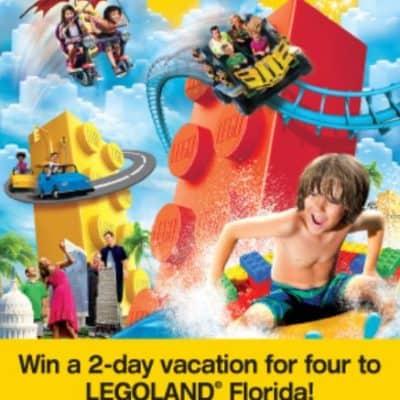 Atlantic Luggage hosting Atlantic/Legoland Florida Sweepstakes!