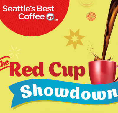 Seattle's Best Coffee Red Cup Showdown Twitter Party- Save the Date!  #RedCupShowdown