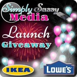 $100 Lowes Gift Card or $100 IKEA Gift Card Giveaway