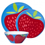 strawberry melamine