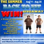 the summer back to fit giveaway
