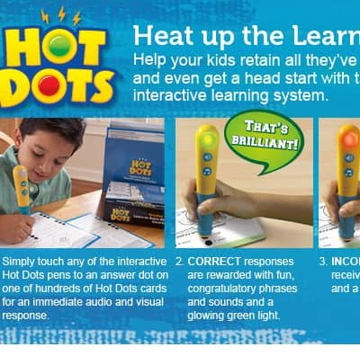 Educational Insights – Hot Dots Review and Giveaway!