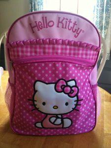 Hello Kitty Backpack from FabNY
