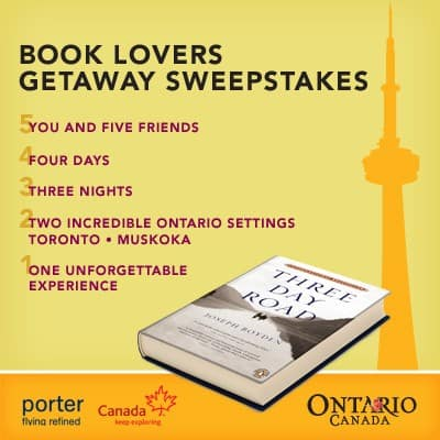 The Book Lovers Getaway Sweepstakes