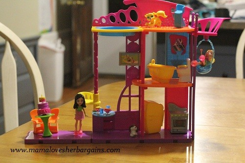 Polly Pocket Stick N Play Hangout House