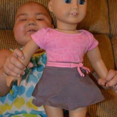 Abby's new American Girl Doll