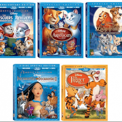Disney Classics now available on Blu-Ray DVD Combo Pack #Giveaway 2 winners
