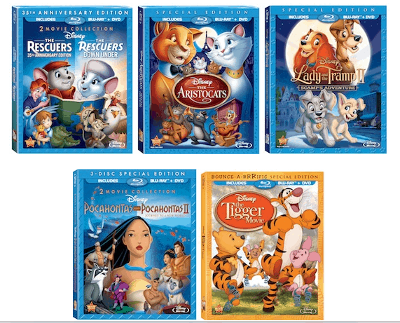 disney blu ray dvd special edition