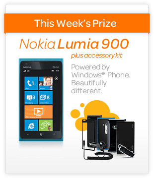 AT&T's What's Cool for School Sweepstakes: Win a Nokia Lumia 900!