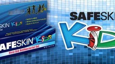 SAFESKIN* Kids Antibacterial Gel