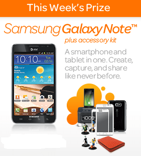Win a  Samsung Galaxy Note in the What's Cool for School Sweeps!