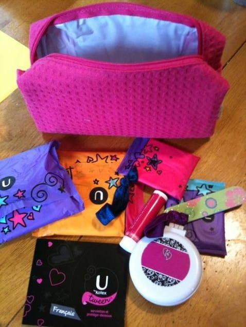 u by kotex for tweens
