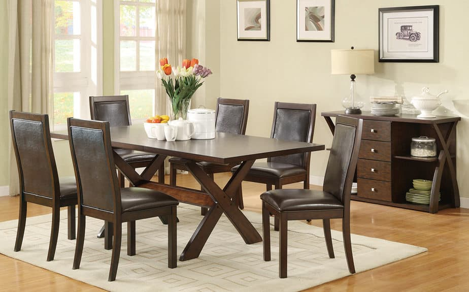 Deal decor 1399 7 piece dining set giveaway this mama for Dining table set deals
