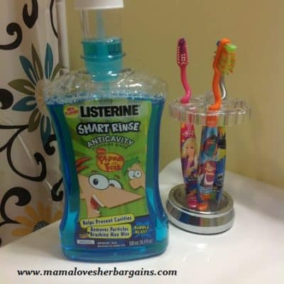 We're taking the  LISTERINE® SMART RINSE® Sweet Smart Oral Care Challenge! #sweetsmart