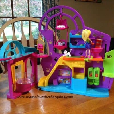 Polly Pocket's Playtime Pet Shop & Friends Finish First DVD